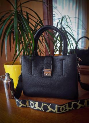 Новая шикарная качественная сумка - классическая из экокожи / кроссбоди через плечо