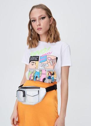 Распродажа ! хлопковая футболка в принт комиксы суши гуманоид