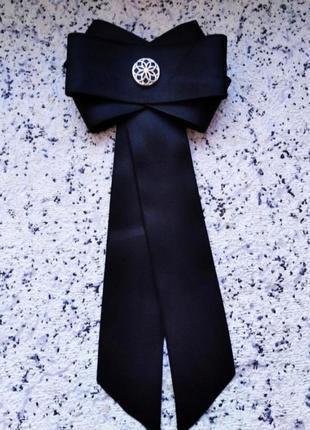 Галстук-брошь галстук женский