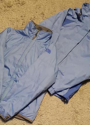 Оригинал.фирменная,шикарная,теплая куртка-ветровка-бомбер 3в1 north face hyvent