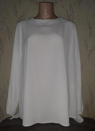Блуза с длинным рукавом текстурная