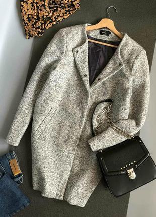 Обалденное теплое мягкое пальто в стиле oversize only (кокон)