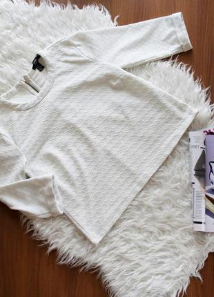 Стильная кофточка из текстурной ткани, кофта, джемпер, фтболка