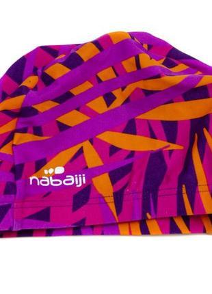 Тканевая шапочка для плаванья nabaiji