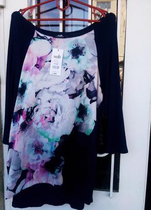 Блуза wallis,р-р 12