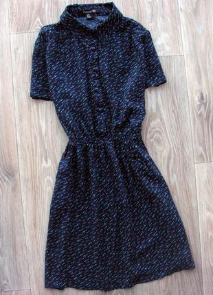 Трендовое платье рубашка forever21