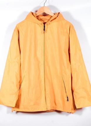 Спортивная женская куртка оранжевая