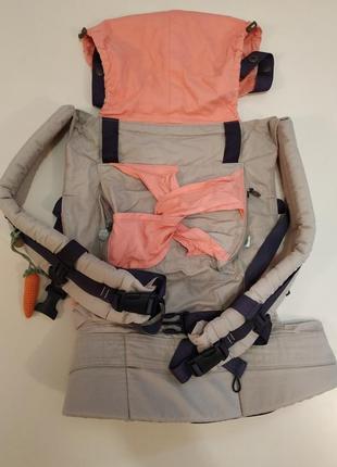 Эрго рюкзак модный карапуз