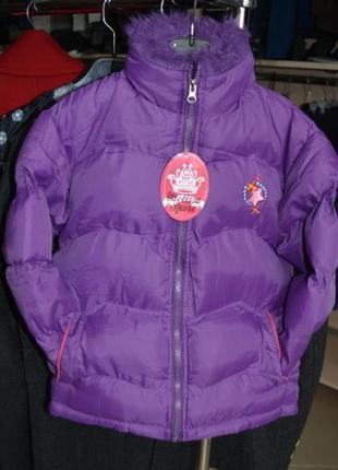 Курточка демисезонная для девочки 5-6 лет
