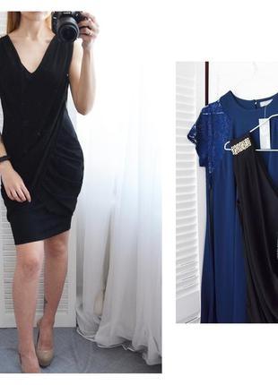 Платье с красивым шифоновым обрамлением