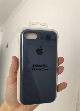 Чехол на айфон 7/8 silicon case