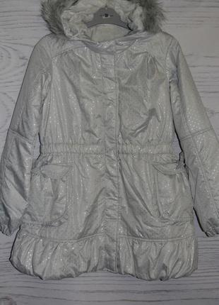 Куртка для девочки демисезонная размер10-11 лет