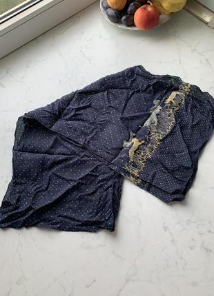 Шарф платок искусственный шёлк