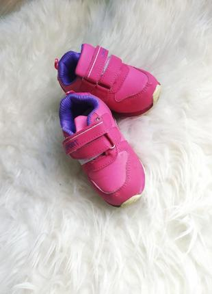 Кроссовки розовые на девочку