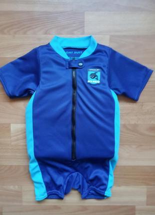 Комбинезон, безопасный костюм для плаванья speedo sea squad float suits  на 2-3 года