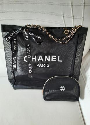 Класнючий набір сумка+косметичка
