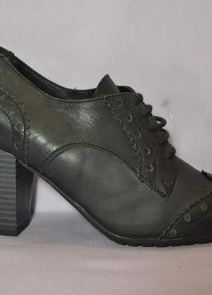 Р.35 salamander,германия,100%натуральная кожа! стильные,суперкомфортные ботинки  ботильоны