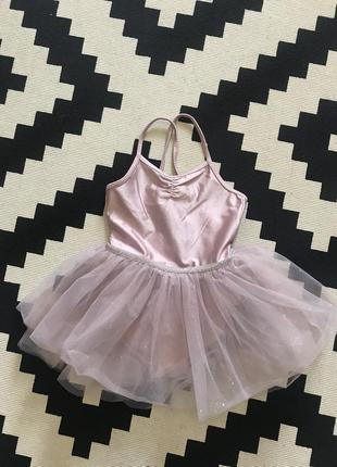 Фирменное боди h&m пачка платье для танцев балет