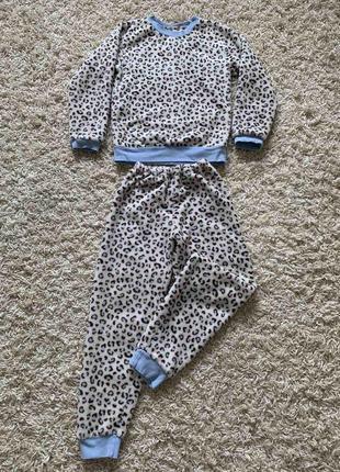 Тепла піжама на вік 4/6 роки