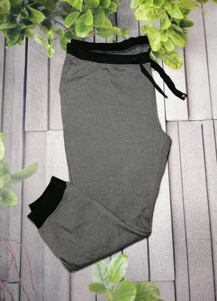 Утепленные женские брюки джоггеры большой размер