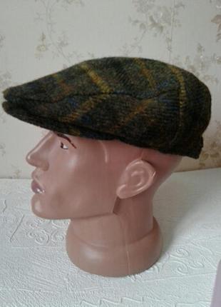 Bullani ,harris, tweed maison du chapeau,кепка плоская хулиганка картуз