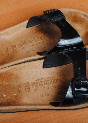 Шлепанцы ортопедические birkenstock. 39 размер. оригинал