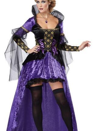 Костюм королева тьмы на хелоуин