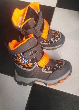 Зимові ботинки термо