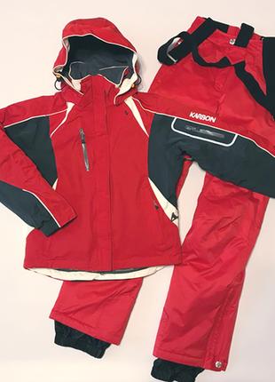 Горнолыжный костюм - куртка karbon и штаны descente, рs