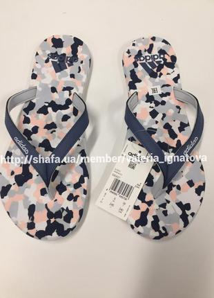 Вьетнамки adidas eezay marbled, адидас, 35,36,37,38,39,40 размер, все размеры