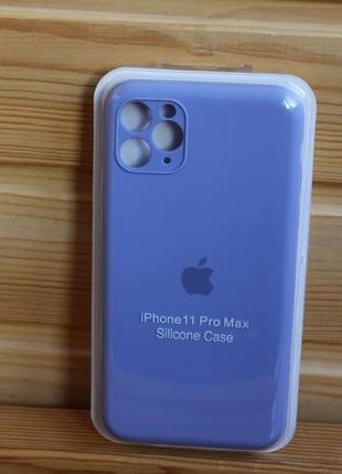 Чехол iphone 11 pro max silicone case айфон (стекло в подарок)