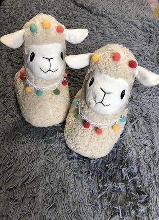Тапочки ламы top shop