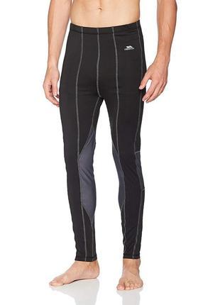 Мужское термобелье штаны tactic тrespass 4 way stretch/black , xl