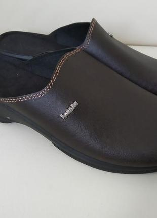45 р. inblu новые стильные мужские шлепанцы тапочки сабо