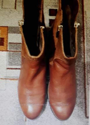 42 кожаные сапожки бренд