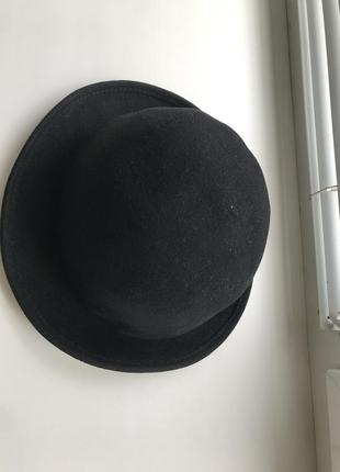 Стильная серная шляпка шляпа