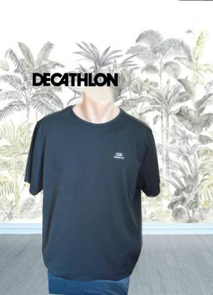 ✨✨decathlon спортивная мужская дышащая футболка черная xl✨✨