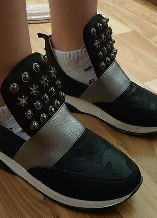 Туфли мокасины демисезонные 34 размер