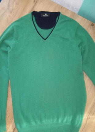 Peter hahn 100% кашемировый cashmere джемпер 52-размер