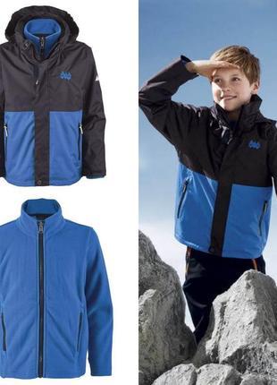 Термо куртка для мальчика 3 в 1 crivit германия размер 10-12 лет