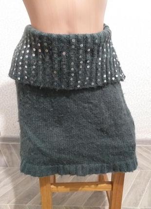Пончо , но можно и как юбка.(3380)