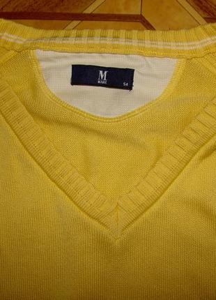 Мужской свитер(реглан) märz (р.54)