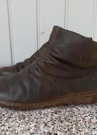 Кожаные деми ботинки el naturalista