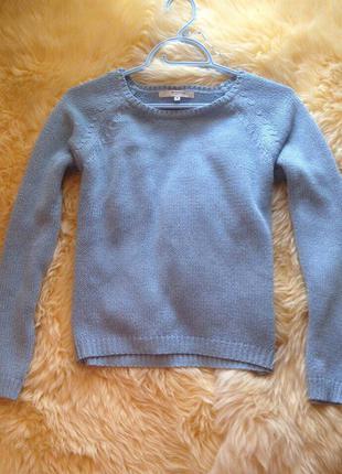 Голубой свитер от reserved