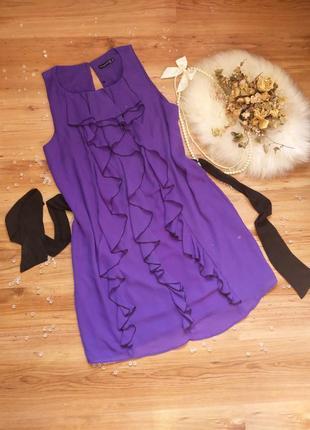 """Шифоновое платье l-xl """"atmosphere"""" нарядное плаття сукня"""