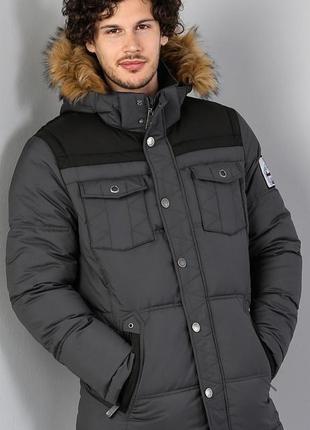 Мужская зимняя куртка пуховик от colin's