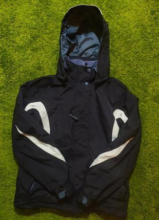 Оригинальная теплая ветровка курточка helly hansen
