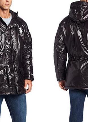 Классная зимняя парка куртка u.s. polo assn. размер xl, доставка!