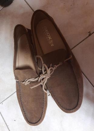 Туфли / лофери кожанные geox