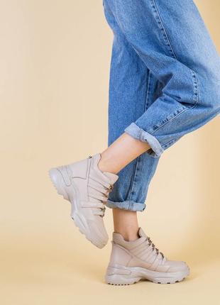 💥кожаные кросовки натуральная кожа. кросовки на платформе
